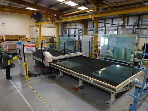Cutting Table at Zytronic Newcastle site.blog