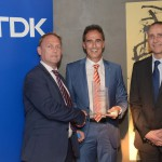 a0714an - Anglia recieves TDK Silver Distribution Award for Outstanding Business Performance in 2016. sml