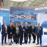 "b1130an - Anglia awarded ""Best Performing Distributor UK & Ireland 2018"" at Electronica by Bourns_"
