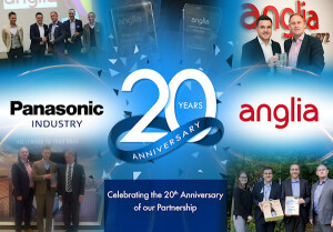 d0627ansml- Highlights of the successful 20-year relationship between Anglia and Panasonic Industry Europe