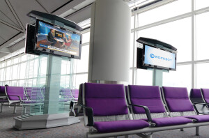 e0838br - Rockbot Airport TV Network provides video content on in-airport TV networks_sml