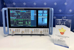 sml.R&S ZNA Electronics Industry Awards Test, Measurement and Inspection product of the year category winner 2020
